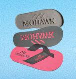 Flop Flip планки ткани широкий с сплетенным логосом