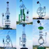 De Waterpijp van het Glas van de Rook van de Vorm van de microscoop met Raket Perc