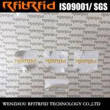 ISO18000-6c EPC RFID imprimible modificado para requisitos particulares Gen2 marca la etiqueta engomada con etiqueta para las bandejas