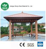 Pabellón al aire libre reciclable del 100% WPC