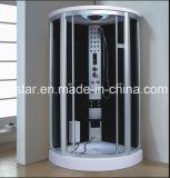 sauna del vapore del settore di 1000mm con l'acquazzone per le singole persone (AT-D0912F)