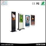 DigitalSignage des kundenspezifischen Einkaufszentrums Selbstservice-Kiosk bekanntmachend