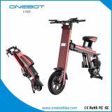 Aleación de aluminio plegable la bici eléctrica con la visualización de LED de la batería de 8.7ah Panasonic