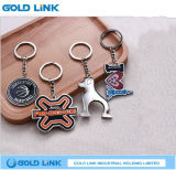 Catena chiave del supporto dell'anello chiave del metallo del regalo chiave su ordinazione di promozione