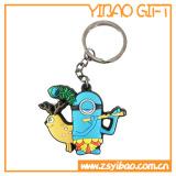 2.o o 3D PVC suave Keychain, Keyring, regalo de la promoción de Keyholder (YB-KC-KC-03)