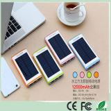 внешний порт USB заряжателя 3 солнечной батареи 12000mAh с электрофонарем СИД для iPhone Xiaomi HTC (SB-7688)