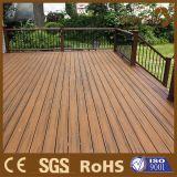 El color del grano Patio de madera, Nueva Decking compuesto, Guangzhou Proveedor