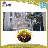 플라스틱 PMMA 아크릴 방풍 유리 색깔 널 또는 위원회 압출기 생산 라인