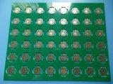 China PWB de 4 camadas com as cortinas através da placa de circuito