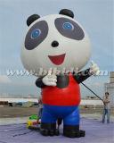 Gigante che fa pubblicità all'aerostato gonfiabile del fumetto del panda per l'uso esterno K2091