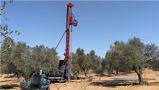 Pleine première foreuse hydraulique vers l'avant de puits d'eau d'entraînement