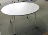 고품질 현대 Deisgn 겹 둥근 대중음식점 테이블 없음