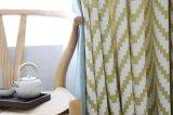 Jacquard diseño moderno poliéster cortina Textiles para el hogar