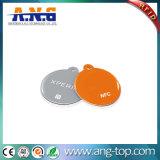 穴あけ器および締縄が付いている円形Hf RFIDのエポキシの札
