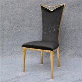 耐久の黒い高のファブリックステンレス鋼の背部椅子(YCX-SS23)