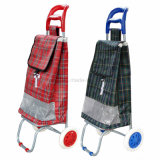 Leichtes Falten Gepäck Metall 2 Räder Shopping Trolley