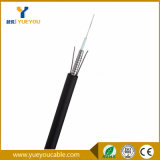 Волокно члена прочности металла пробки сердечников GYXTW 6 однорежимное центральное свободное - оптический кабель