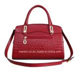 Het hete Verkopende Kleurrijke Pu Leer van de Manier Dame Handbag
