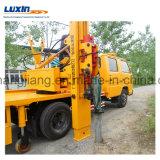 Camion de perforateur de rambarde d'Isuzu 4X2 LHD avec le marteau hydraulique