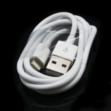 Großhandelsdick 1m weißer Blitz zum USB-Kabel für Apple iPhone 6 Plus6s 6s plus Aufladeeinheit