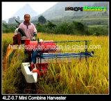 Mini vente chaude de moissonneuse de cartel de riz des prix bon marché en Indonésie