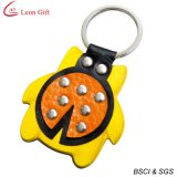 De hete Zak Keychain van het Leer van de Verkoop voor de Gift van de Bevordering (LM1156)