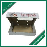 Bandeja de papel corrugado el cartón para Caja de fruta