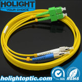 Sc/APC a FC/PC Cable de fibra