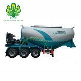 Le mortier de ciment sec Shengrun citerne du camion remorque remorque-citerne/ poudre