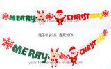 De Decoratie van de Sneeuwvlok van Kerstmis van de pluche