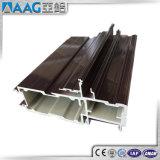 Profil 6061 en aluminium industriel carré de la vente directe 6063 d'usine avec de l'argent anodisé