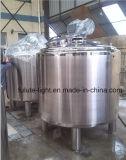 Roestvrij staal Vloeibare het Mengen zich van 500 Liter Tank