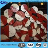 Barra rotonda d'acciaio 1.2344 della muffa del lavoro in ambienti caldi dell'acciaio per costruzioni edili