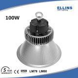 Iluminación industrial comercial 5500k del alto de la bahía del LED almacén de la luz 150W