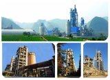 Fornecimento 1500tpd Linha de produção de cimento / forno rotativo