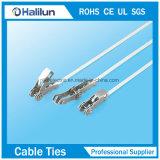 Serre-câble du blocage solides solubles de rochet avec l'épaisseur 0.3mm/0.4mm