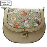 花模様が付いている最新の優雅な方法女性戦闘状況表示板のハンドバッグ
