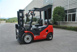 Tonne LPG der Serieen-UNO 2.5 und Benzin-Gabelstapler-Doppelt-Kraftstoff-Gabelstapler mit GR.-Motor