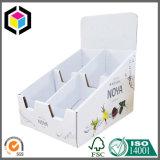 Caixa de escaninho Stackable simples do indicador do cartão ondulado de cópia de cor