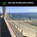 De Klem /Spigot van het Traliewerk van het Glas van het roestvrij staal