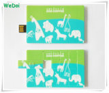Lecteur flash USB de vente chaud neuf de carte de puzzle avec le logo coloré d'impression (WY-C03)