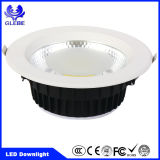 Ce Certificado RoHS 10W 20W 30W luzes de teto LED Down Light para o hotel