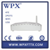 4ge 2VoIP/Pots Ont Ethernet FTTH Gpon Huawei Epon ONU