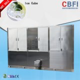 Produit 1-10 tonnes de glace comestible de cube par l'usine de machine de glaçon