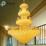 vidro liso amarelo dourado matizado decorativo de 8mm para o mercado da iluminação (CY)
