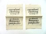 Personalizado impressão de etiquetas de papel Madeira Garment Pendure