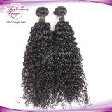 Unprocessed естественные перуанские волосы девственницы 8A курчавые