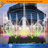 Fontaine 3D de musique flottante en lac d'acier inoxydable