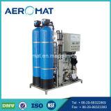 Tanque de água da embarcação de pressão de FRP para a planta do tratamento da água do RO