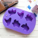 Прессформа пирожнй силикона быстро перележалого донута пурпуровая с судомойкой содружественной
